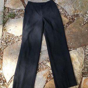 NWOT Arthur S Levine for TAHARI Charcoal Trousers